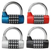 4または5桁のセキュリティロック実用的なトラベルバッグ荷物の南京錠の組み合わせロック