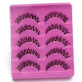 Falso Pestañas Fake Eyelash Soft Long Handmade Maquillaje Eye Lash