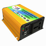 DC 12V naar AC 220V Power Inverter Gemodificeerde Sinus USB Oplader Boot Car 600W Converter