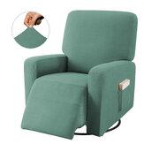 Elastis Sofa Cover Cakupan Penuh Kursi Kursi Pelindung Kursi Peregangan Sarung Sarung Tahan Debu Sarung Kursi Rumah Perabot Kantor Dekorasi