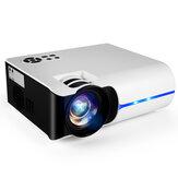 VS315 LED Mini-Projektor Voll HD Unterstützt 5000 Lumen 3500: 1 Kontrastverhältnis 50000 Stunden 150-Zoll-Großbildschirm für Heimkino-Filme im Freien