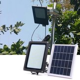 Solar Powered 150 LED Radar Motion Sensor Flood Light Waterproof Outdoor Warm White Lampada de segurança
