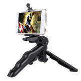 PULUZ Grip Folding Tripod Mount with Adapter Screws for Gopro SJCAM Xiaomi Yi Action Camera
