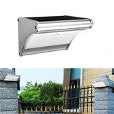 ARILUX® PL-SL 14 Solar 24 LED Aluminio Control de luz PIR Movimiento Sensor Pared Lámpara Impermeable Suelos