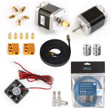 Creality 3D® Ender-6 Wearing Parts Package with Stepper Motor Kits/Cooling Fans/Nozzle Kit/Timing Belt/Limit Seitch/Thermistor