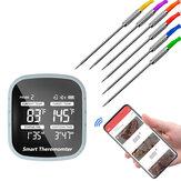 bluetooth Wireless BBQ Termômetro Ferramentas de cozinha inteligentes com 6 sondas e temporizador de alarme APP grátis para telefone