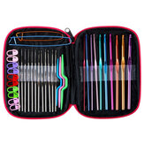 100Pcs Sewing Set Colorful Metal Hooks Needles Scissor Tape Knitting Set Clothes Shoes Tapestry Repairing Tools For Home Office Supplies