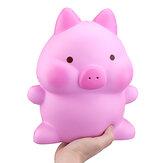 Giant Piggy Squishy 26cm Swine Kawaii Rosa Cerdo Perfumado Lentamente Rebote Jumbo Juguetes lindos