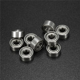 10pcs 684ZZ 4x9x4mm Ball Bearings Metal Double Shielded Miniature Ball Bearing