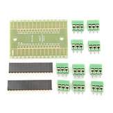 3Pcs DIY NANO IO Shield V1.O Expansion Board Geekcreit for Arduino - products that work with official Arduino boards