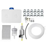 5L Brandstof Benzinetank 2-Gats Pomp Oliefilter Nozzle Set Voor Auto Diesel Luchtverwarmer