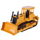 Double E E579 1/20 2.4G 9CH RC chargeur tracteur camion bulldozer lumière son ingénierie véhicules modèles jouets pour enfants enfants