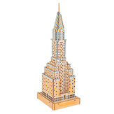 3D Commercial Building/Holy Church Wooden Assembly Model for Children Toys