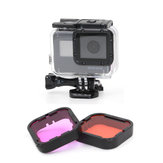 GoPro Hero 5 6 Purple-Red Red Filter Lens For Blue Green Color Correction Under Water Photography