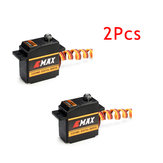 Servo Swash de 2PCS EMAX ES09MD Digital para o helicóptero de 450 com engrenagem do metal