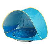 Baby Beach Tent UV-ochrona Sunshelter z basenem wodoodporna Pop Up markiza Outdoor Camping parasolka