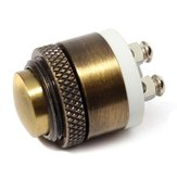 16mm Momentary Brass Metal Push Button Doorbell Switch