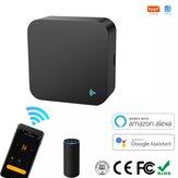 Tuya Smart WIFI IR Controle Remoto Universal Infrared Wireless Controle Remotoler para TV DVD AUD AC Trabalhe com Alexa Google Home através do Smart Life Tuya APP