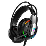 A12 Gaming Headphone Headset Deep Bass Stereo Wired Earphone With Mic LED Light for PC Computer