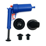 High Pressure Air Toilet Drain Blaster Pump Plunger Sink Pipe Clog Home Remover Cleaner Tool