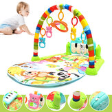 Foot Play Piano Musical Lullaby Baby نشاط Playmat Gym Toy Soft Baby Play Mat