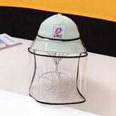Kids / Little Kids(1-4ys) Children's Fruit Fisherman Hat Sun Hat Removable Face Screen