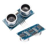 Módulo ultrassônico 4pcs Geekcreit® HC-SR04 Transdutores de alcance e medição de distância Sensor DC 5V 2-450 cm
