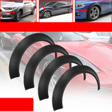 Universal Car Wheel Fender Flares 4 Piece Flexible Yet Durable Polyurethan Body Kits Ekstra brede Body Wheel Arches