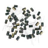 150pcs 16v 470uf capacitor eletrolítico radial de baixa frequência e alta ESR