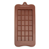 Chocolate Mold Mould Bar Break Apart Choc Block Ice Tray Silicone Cake Baking Mold