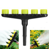 3/4/5/6 Nozzles Atomization Drip Water Sprayer Irrigation Sprinkler Kit for Agriculture Lawn Garden Patio Greenhouse