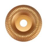 110mm 22mm Furo Metal Duro Lixar Madeira Disco de Moldagem Disco de Esmeril de Madeira Angular para Rebarbadora