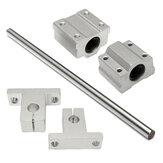 Machifit SCS8UU/SK8 Albero da 8mm 200-1000mm Lunghezza Guida lineare ottica per guide CNC di supporto