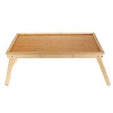 Suporte de mesa para laptop de madeira Mesa portátil dobrável para notebook Suporte para mesa de colo Cama para crianças Casa do aluno
