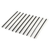 30 Pcs 40 Pin 2.54mm Single Row Male Pin Header Strip Para Prototype Shield DIY