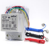 DF96D AC220V 5A Din Rail Mount Float Switch Automatische Water Level Controller met 3 sonde
