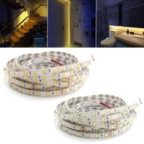 5M 60W 5050 SMD Waterproof 300LEDs Strip Light Pure White Warm White for Home Decor DC24V