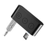 Bakeey bluetooth 5.0 voiture Kit récepteur adaptateur AUX 3.5MM Jack lecteur de musique MP3 avec micro prise en charge mains libres TF carte lecture
