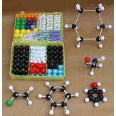 267szt.Chemiaorganicznastrukturastruktury nieorganicznej molekularnej 116 kul i 150 sztuk modelu medycznego