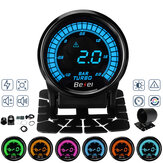 2 '' 52mm Auto Turbo Boost Manometer Digitale LED Display met Sensor 2 BAR