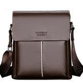 MenSacàbandoulièreMinimalisteen cuir pour homme Leisure Business Crossbody Bag Porte-documents