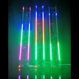 Luz de ritmo LED 60 segmentos DIY Kit electrónico Control de voz y kit de espectro musical Drive-By-Wire 375 mm * 50 mm