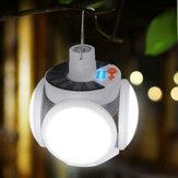 Solar Power LED Лампа Летающая Регулируемая Лампа Клинок На открытом воздухе Аварийный Кемпинг Light