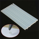 10pcs 11mm x 247mm EVA Clear Hot Melt Glue Adhesive Sticks For Glue Gun