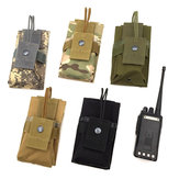 Hunting MOLLE System Outdoor Multi-functional Tactical Intercom Package Bag Army Fan Appendage
