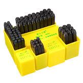 Hogekwaliteitduurzamezinklegering3mm6mm Letter DigitSets Punch lederen stempel Leathercraft accessoire Tool