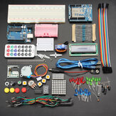 Geekcreit UNOR3 Basic Starter Kits Intet batteri version til Arduino kartonemballage