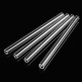 4Pcs Borosilicate Glass Blowing Tube 150mm x 10mm x 2.2mm