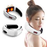Горячий электрический шейный массажер Шея Поддерживающий массажер для тела и плеч Расслабляющий массаж Магнитная терапия