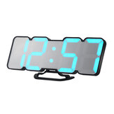 HC-26 3D Colorful LED Digital Clock Remote Control Temperature Alarm Clock